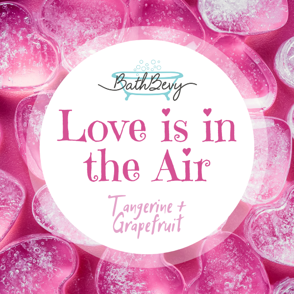 LOVE IS IN THE AIR SHOWER STEAMERS