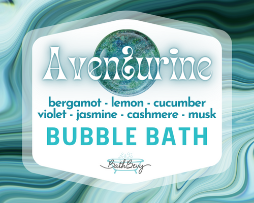 AVENTURINE BUBBLE BATH JUG