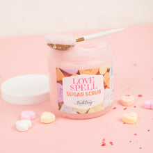 Load image into Gallery viewer, LOVE SPELL SUGAR SCRUB