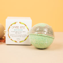 Load image into Gallery viewer, CARAMEL APPLE BATH BOMB