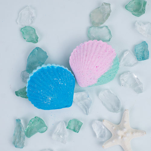 SEA SHELLS BATH BOMBS (SET OF 2)