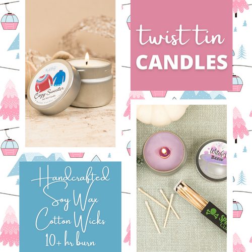 TWIST TIN CANDLE