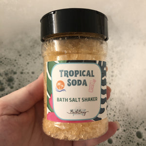 TROPICAL SODA BATH SALT SHAKER