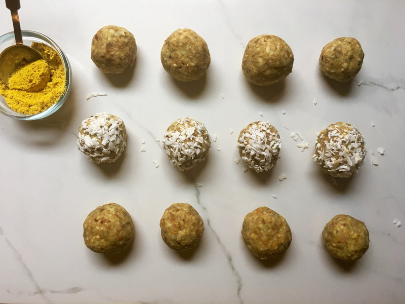 Golden Root Turmeric Coconut Fat Balls