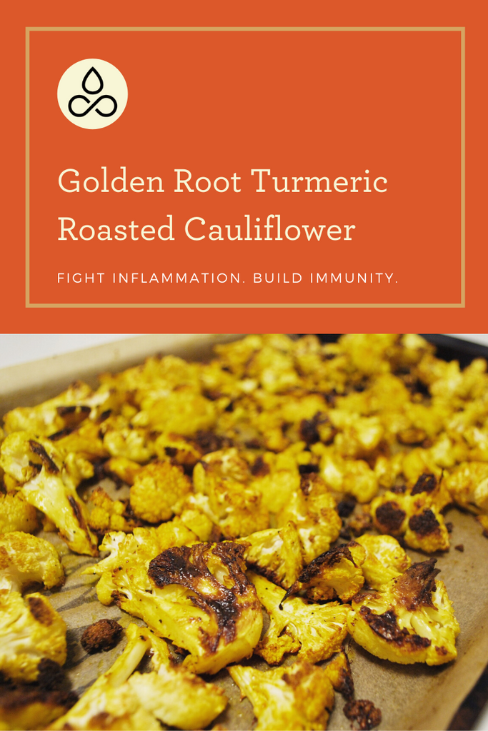 Turmeric Roasted Cauliflower Blog Image