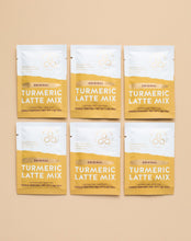 Load image into Gallery viewer, Original Turmeric Latte Mix - 6 Individual Sachets
