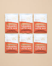 Load image into Gallery viewer, Spicy Unsweetened Turmeric Latte Mix - 6 Individual Sachets