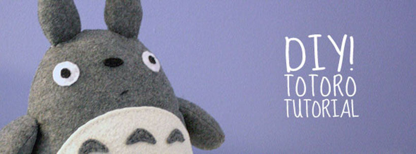 DIY Pillow Totoro Step By Step