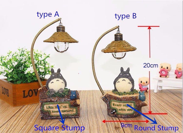 Totoro night light use LED decoration home