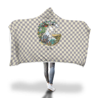 Ghibli Hooded Blanket - Cute Totoro: My Neighbor Totoro
