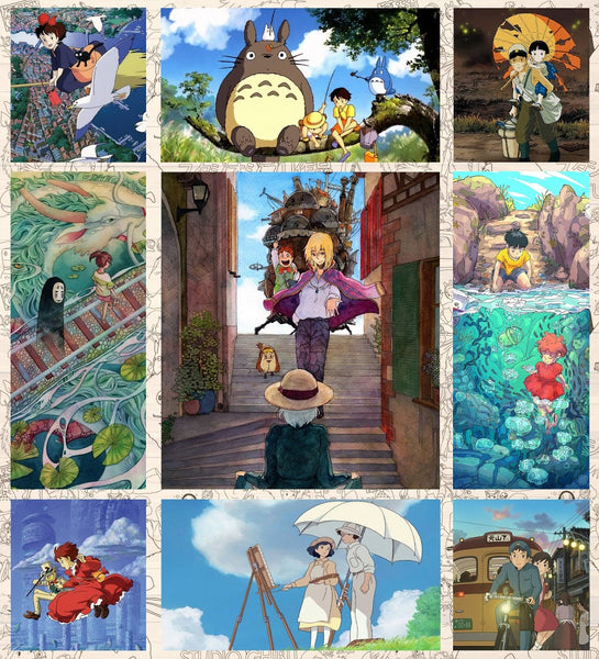 Studio Ghibli movies favorite QUILT blanket