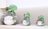 Totoro Teddy with lucky leaf - Cute Totoro: My Neighbor Totoro