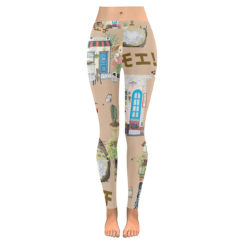 Studio Ghibli leggings Clothing for Women - Cute Totoro: My Neighbor Totoro