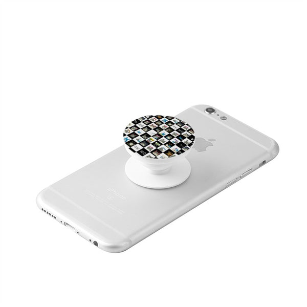 Totoro Checkerboard Custom Popsocket Phones and Tablets - Cute Totoro: My Neighbor Totoro