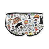 Ghibli clothing Doodle Women's Boxer Briefs - Cute Totoro: My Neighbor Totoro