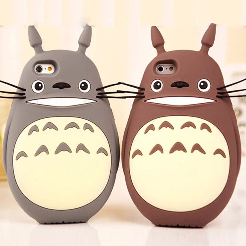 finest selection 762e0 7ff22 Totoro Protective Phone Cases For iPhone 5 5s 6 6s 7 Plus SE Shockproof