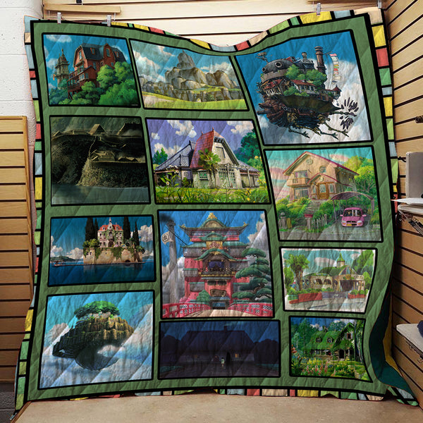 Ghibli House Favorite Home Bedding