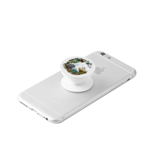 Ghibli Custom Popsocket for Phones and Tablets - Cute Totoro: My Neighbor Totoro