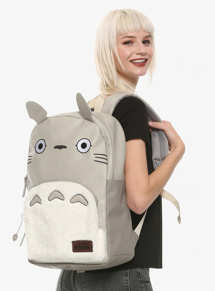 STUDIO GHIBLI MY NEIGHBOR TOTORO CHARACTER BACKPACK - Cute Totoro: My Neighbor Totoro