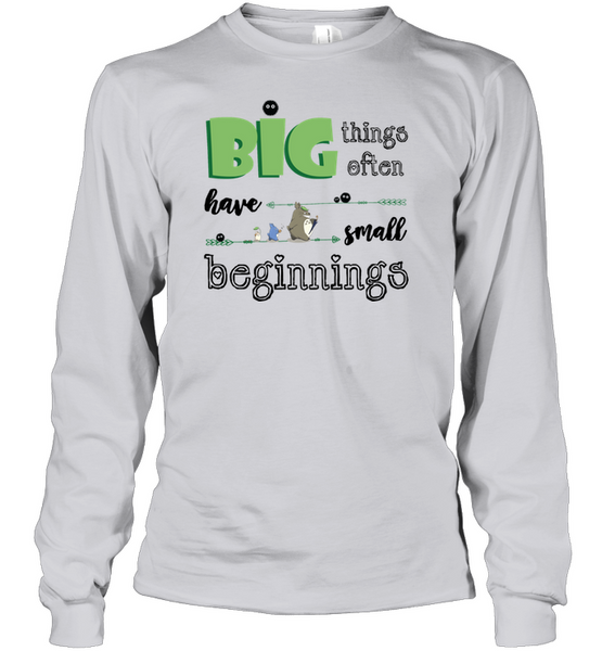 Big things often have small beginnings - Cute Totoro: My Neighbor Totoro