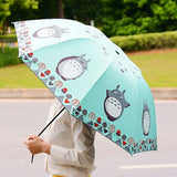 Cute Totoro umbrella color full - Cute Totoro: My Neighbor Totoro