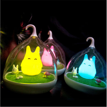 Night Light Totoro Cute Portable Touch Sensor USB LED Lights - Cute Totoro: My Neighbor Totoro