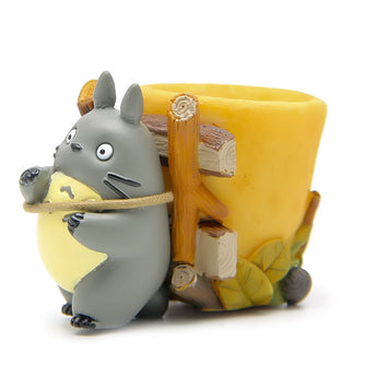 Totoro Action Figure Toys Cute Back Basket for Home Decor - Cute Totoro: My Neighbor Totoro