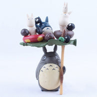 Totoro Dolls PVC Action Figure Collectible Model Toy Doll - Cute Totoro: My Neighbor Totoro