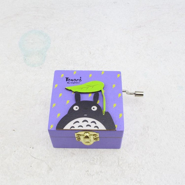 Music Box Gift  My Neighbor Totoro Wooden - Cute Totoro: My Neighbor Totoro