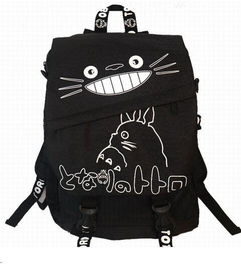 Totoro Ghibli School Backpack Shoulder - Cute Totoro: My Neighbor Totoro