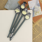 Totoro Gel Ink Pen set 3pc - Cute Totoro: My Neighbor Totoro
