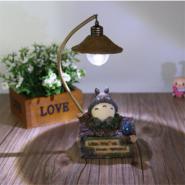 totoro Night Light use LED Decoration Home Beautiful - Cute Totoro: My Neighbor Totoro
