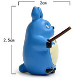 5pcs/lot Totoro Satsuki Mei Fishing PVC Action Figure Model Landscape for Garden - Cute Totoro: My Neighbor Totoro