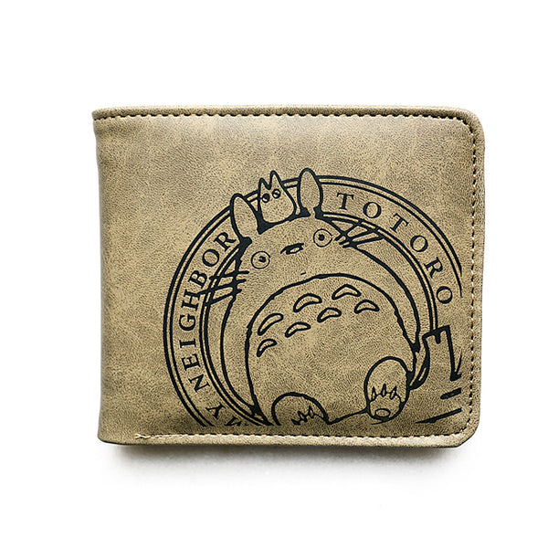 Totoro Wallet Leather for men - Cute Totoro: My Neighbor Totoro