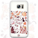 Totoro Phone Case for Samsung Galaxy S3 S4 S5 S6 S7 Edge Plus Mini - Cute Totoro: My Neighbor Totoro