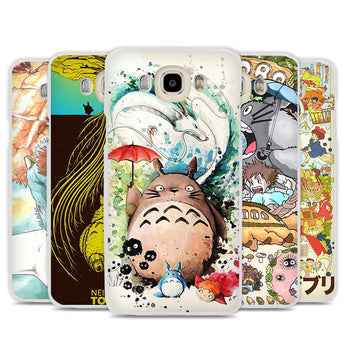Totoro Phone Case for Samsung Galaxy J1 J2 J3 J5 J7 C5 C7 C9 E5 E7 - Cute Totoro: My Neighbor Totoro