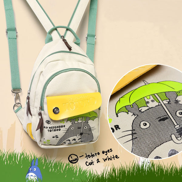Totoro combine backpacks and shoulder bag fashion style - Cute Totoro: My Neighbor Totoro