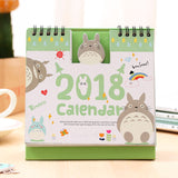 Totoro Calendar Scheduler Table 2018