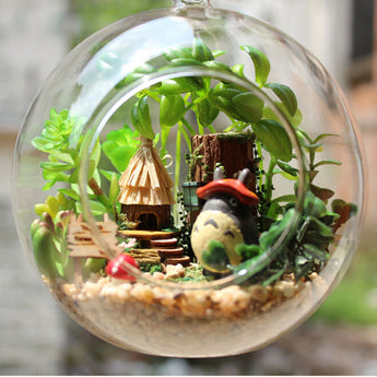 Miniature Garden with Totoro - Cute Totoro: My Neighbor Totoro