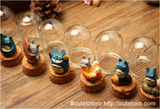 Totoro Glass Bottle Resin Decoration - Cute Totoro: My Neighbor Totoro
