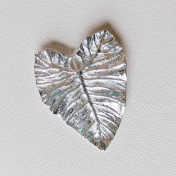 Elephant Ear Pendant / Pin