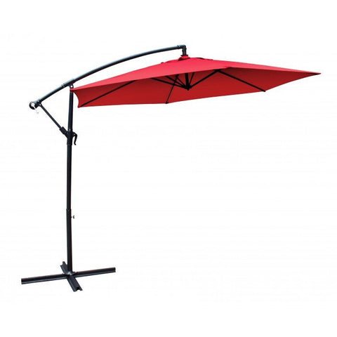Euro Style Collection 10-Foot Patio Umbrella-Crimson Red