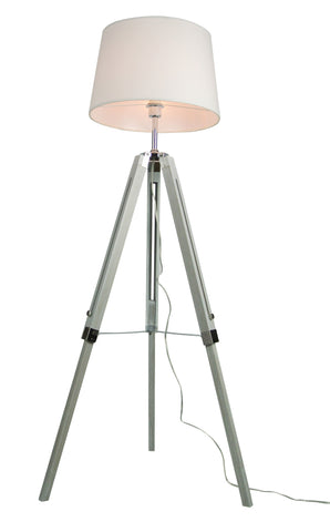 Euro Style Collection Rome 60 Inch Adjustable Tripod Floor Lamp