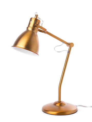 "Euro Style Collection Lyon 18"" Modern Table Lamp-Brass"