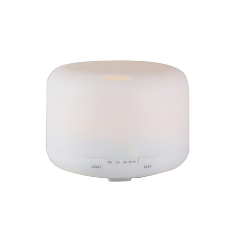 Euro Style Collection Aroma Essential Ultrasonic Oil Diffuser with LED Light-120 ML