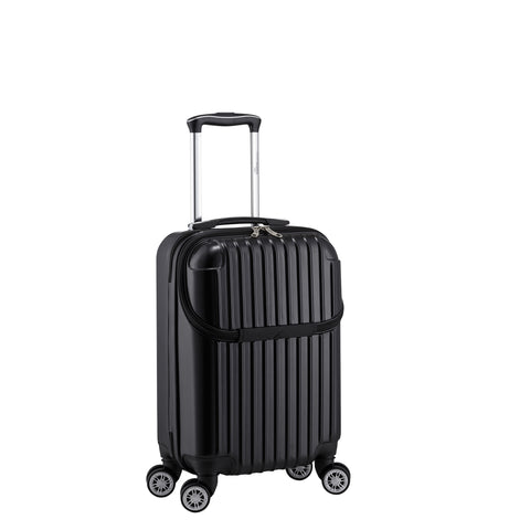 "Euro Style Collection Ibiza 21"" Hardshell Luggage-Black"