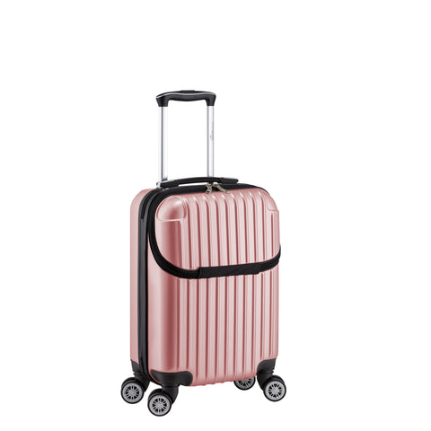 "Euro Style Collection Ibiza 21"" Hardshell Luggage-Pink"