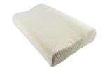 Euro Style Collection Ergonomic Premium Pillow with Memory Foam-Set of 2