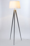 "Euro Style Collection Berlin 60"" Tripod Floor Lamp-Grey/White"