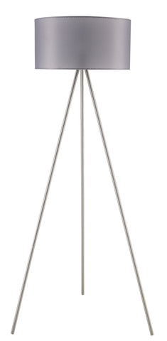 "Euro Style Collection Braga 61"" Tripod Floor Lamp-Mesh"